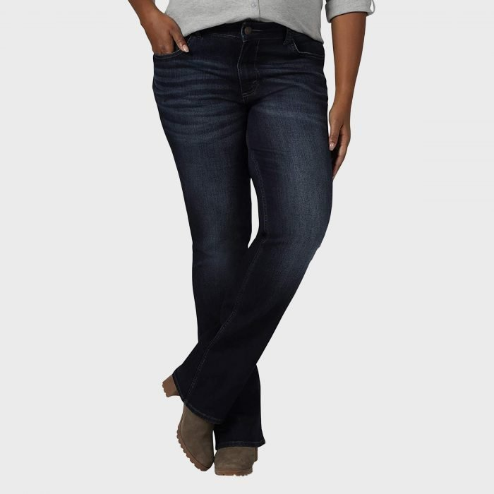 Riders By Lee Indigo Plus Size Midrise Bootcut Jeans