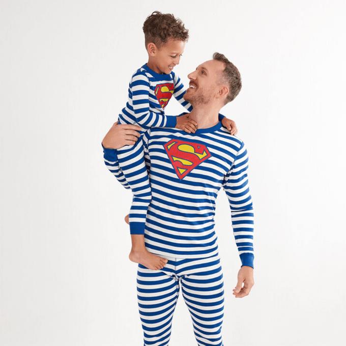 Superman Matching Family Pajamas