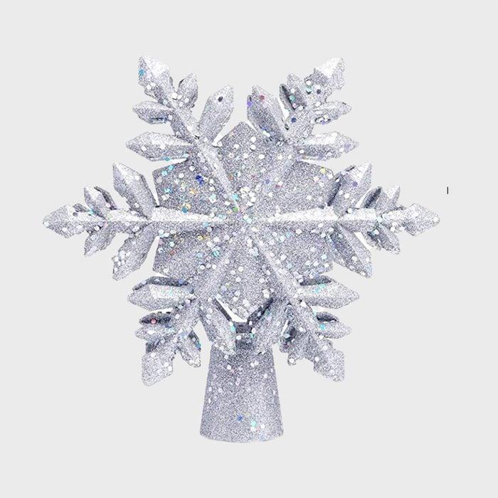 Snowflake Christmas Tree Topper Via Amazon