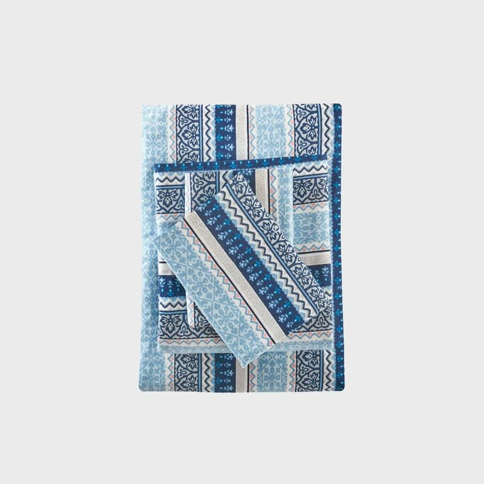Target Flannel Print Sheet Set