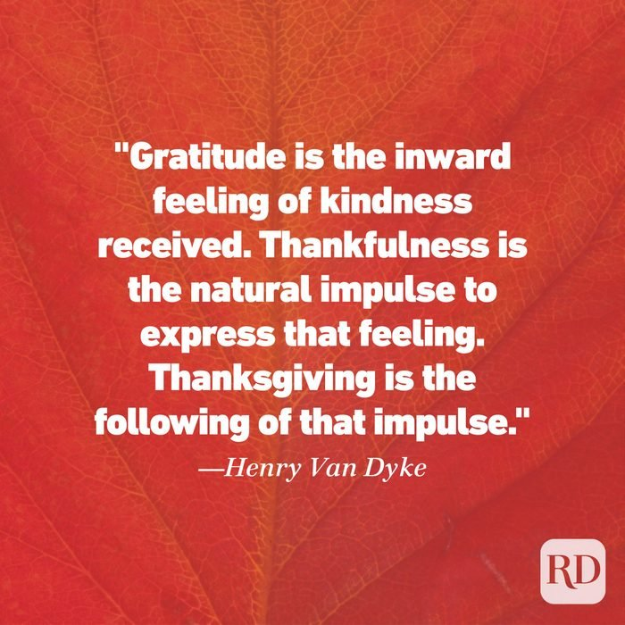 Thanksgiving Quote by Henry Van Dyke