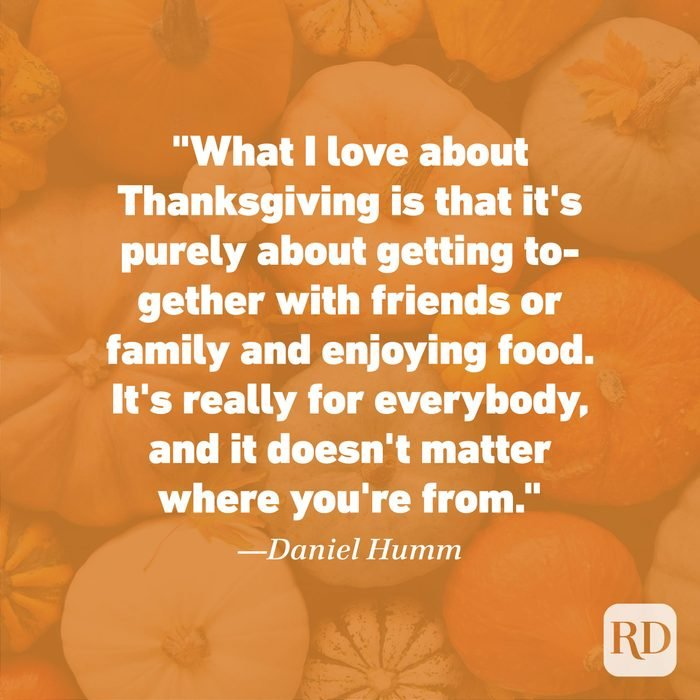 Thanksgiving Quote by Daniel Humm