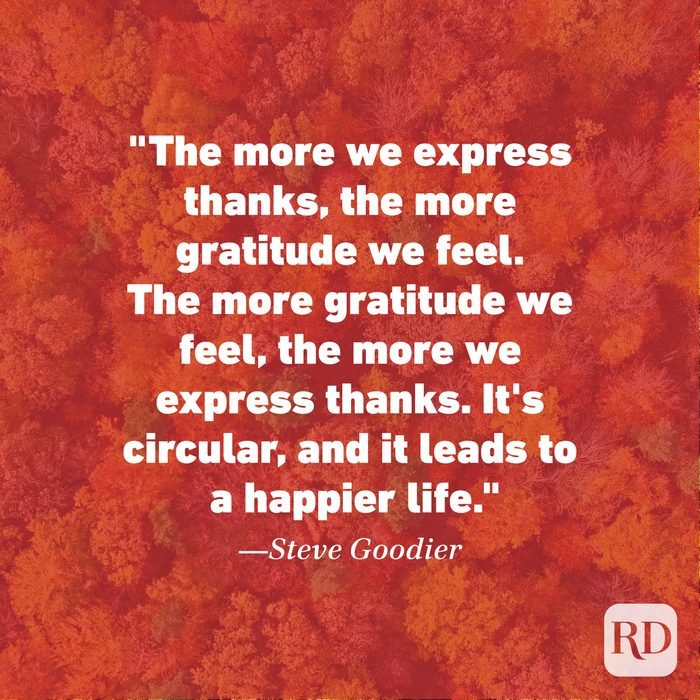 Thanksgiving Quote by Steve Goodier