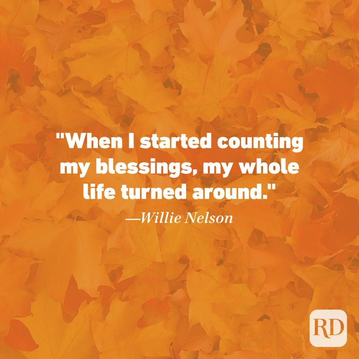 Thanksgiving Quote Willie Nelson
