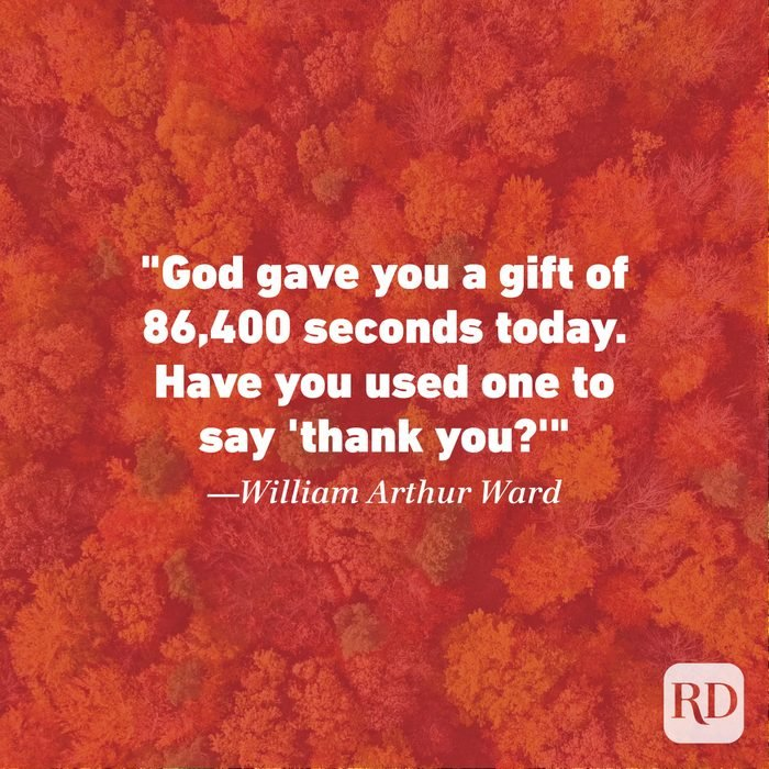 Thanksgiving Quote by William Arthur Ward