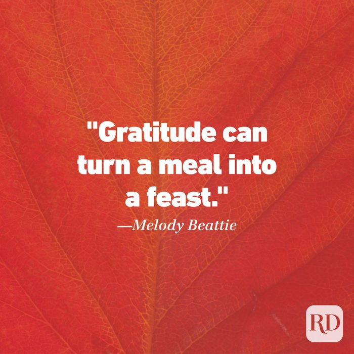 Thanksgiving Quote by Melody Beattie