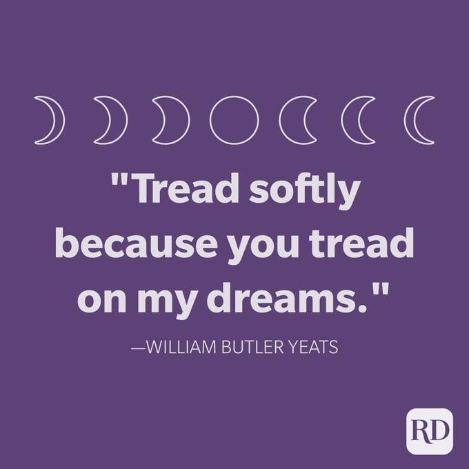 William Butler Yeats Selamat Malam Kutipan