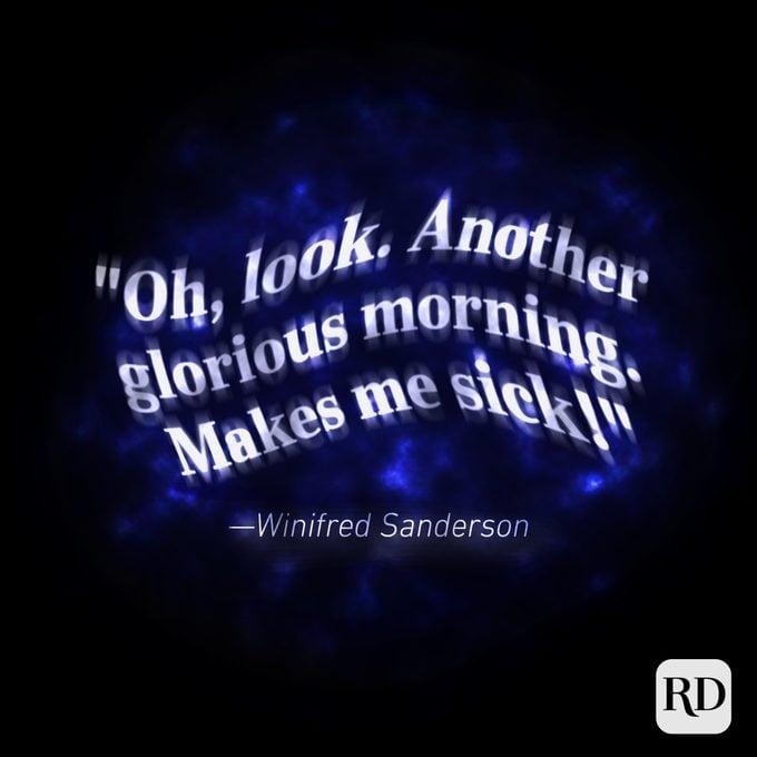 Winifred Sanderson Hocus Pocus Quotes