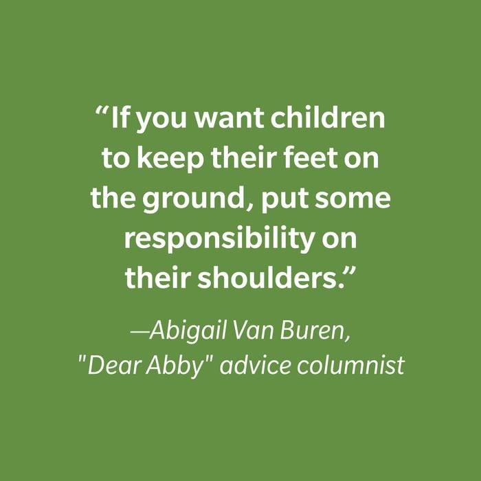 Abigail Van Buren Inspiring Kids' Quotes