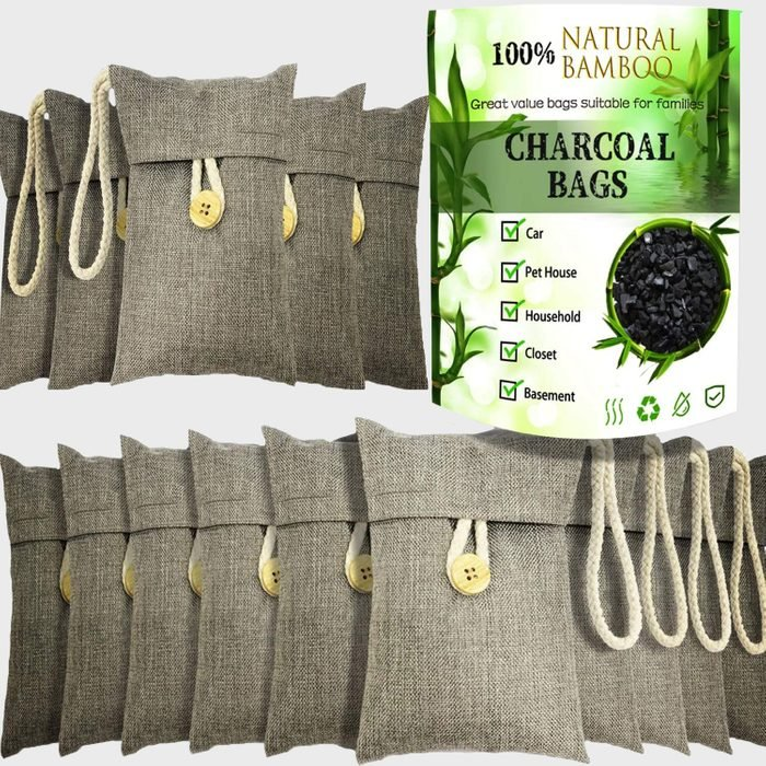 wyewye Activated Bamboo Charcoal Air Purifying Bags