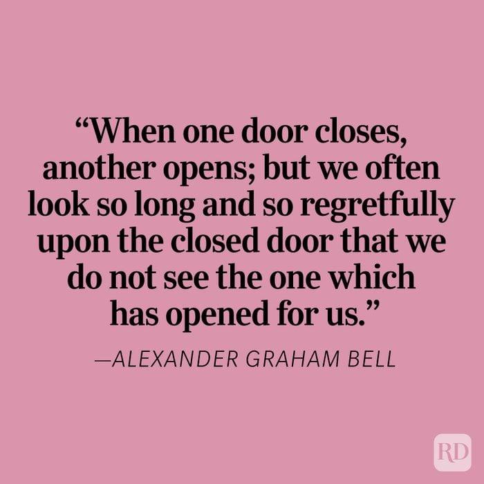 Alexander Graham Bell Heartbreak Quote
