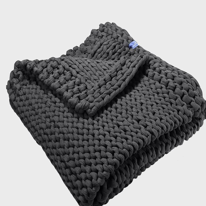 California Design Den Chunky Weighted Throw Blanket