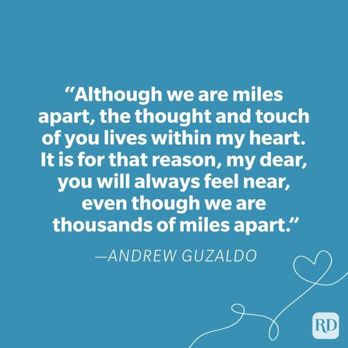 Andrew Guzaldo Miss You Quote