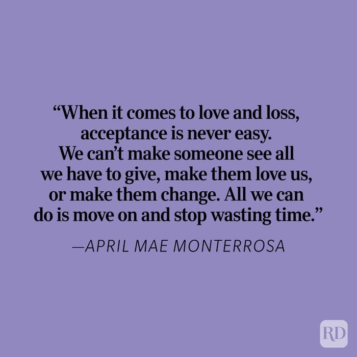 April Mae Heartbreak Quote