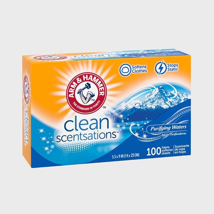Arm & Hammer Clean Sensations Dryer Sheets