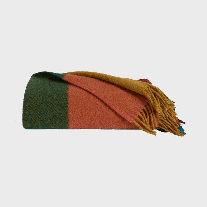 Brooklinen Color Field Wool Throw Blanket