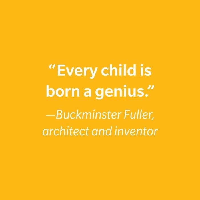 Buckminster Fuller Inspiring Kids' Quotes