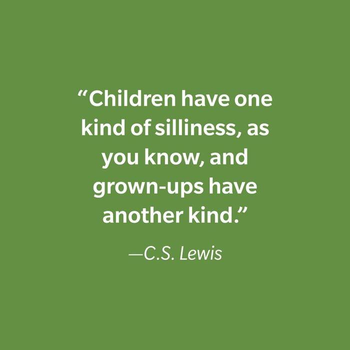 C.s. Lewis Inspiring Kids' Quotes