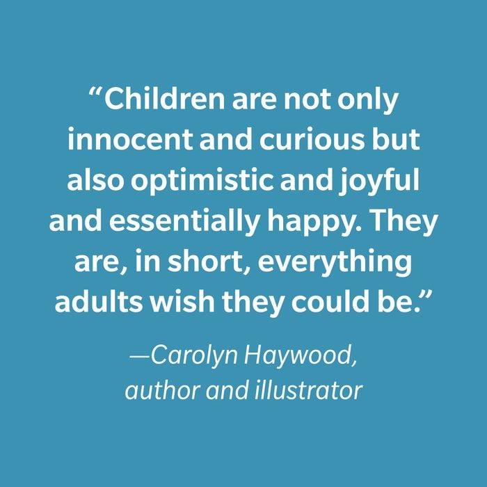 Carolyn Haywood Inspiring Kids' Quotes