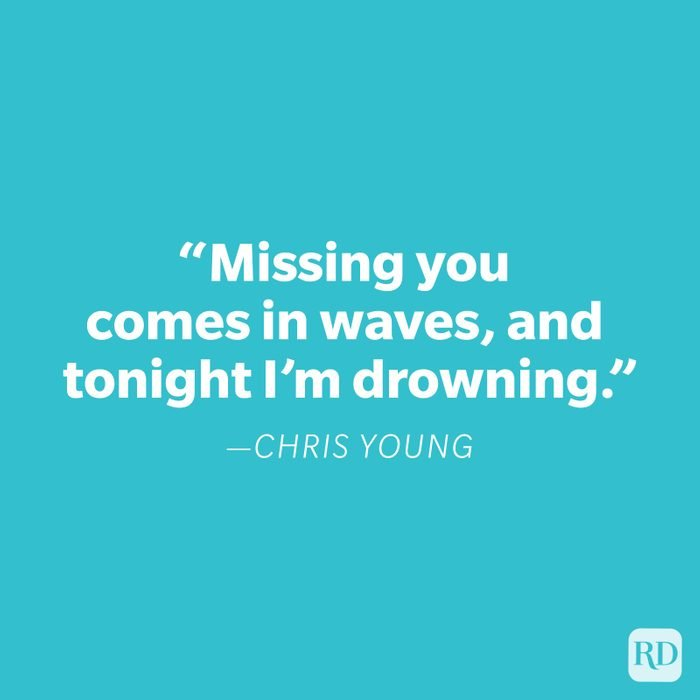 Chris Young Miss You Quote