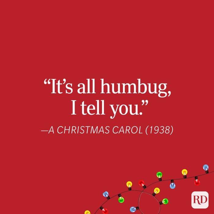 Christmas Carol Christmas Quote
