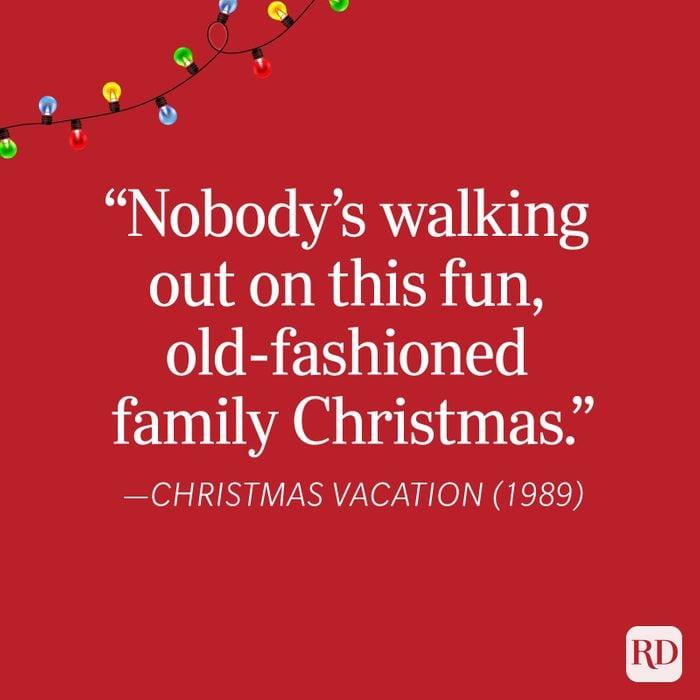 Christmas Vacation Christmas Quote