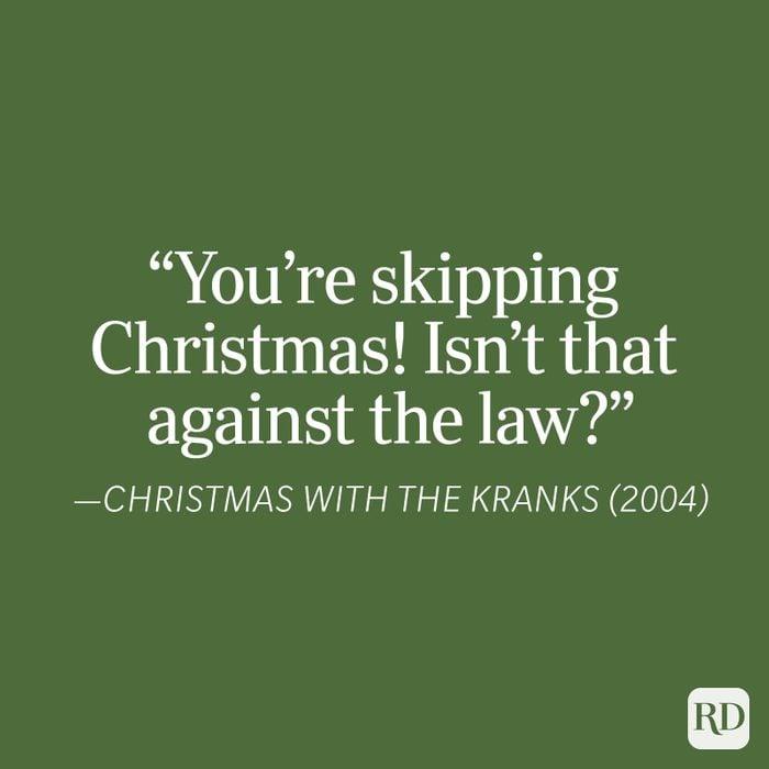 Christmas With The Kranks Christmas Quote