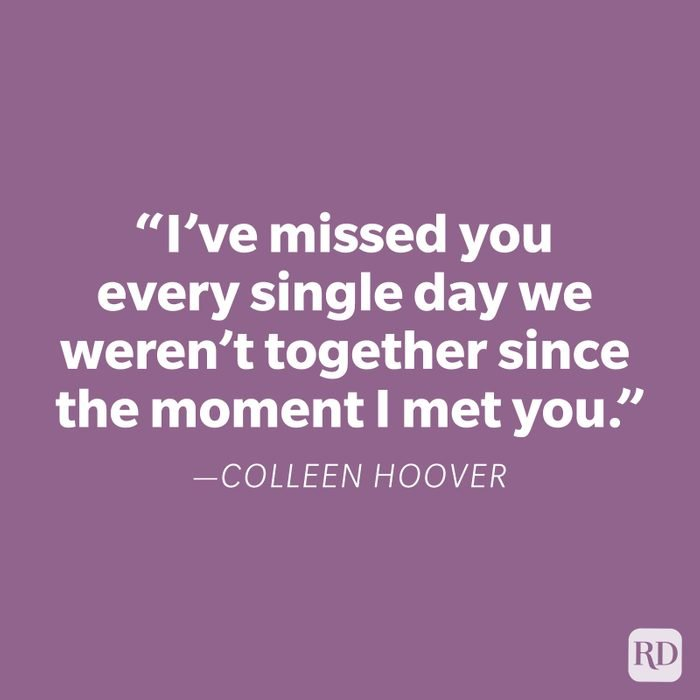 Colleen Hoover Miss You Quote