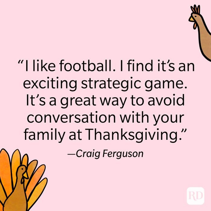 Craig Ferguson Thanksgiving Quote