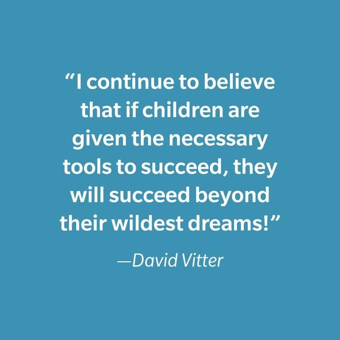 David Vitter Inspiring Kids' Quotes