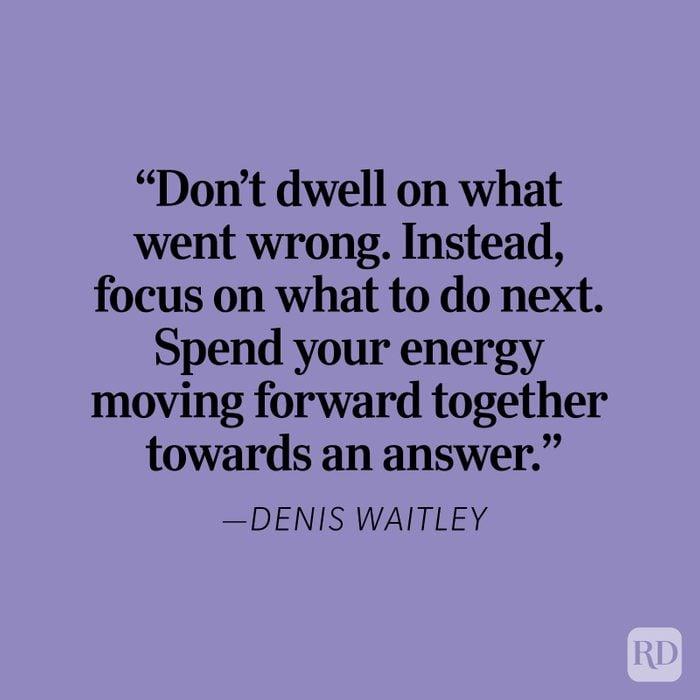 Denis Waitley Heartbreak Quote