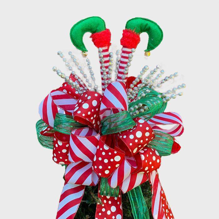 Elf Christmas Tree Topper Via Etsy