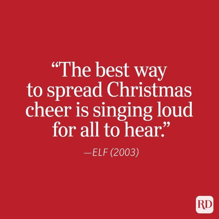 Elf Christmas Quote 2