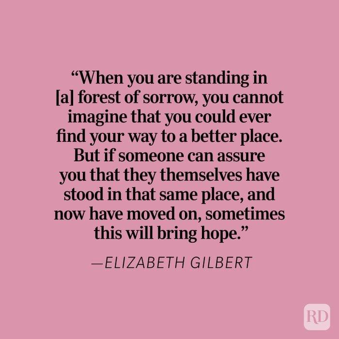 Elizabeth Gilbert Heartbreak Quote