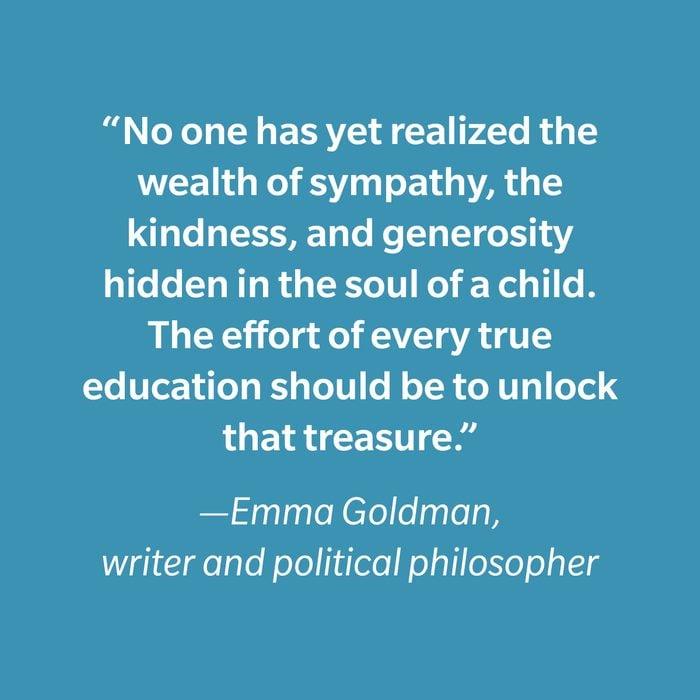 Emma Goldman Inspiring Kids' Quotes