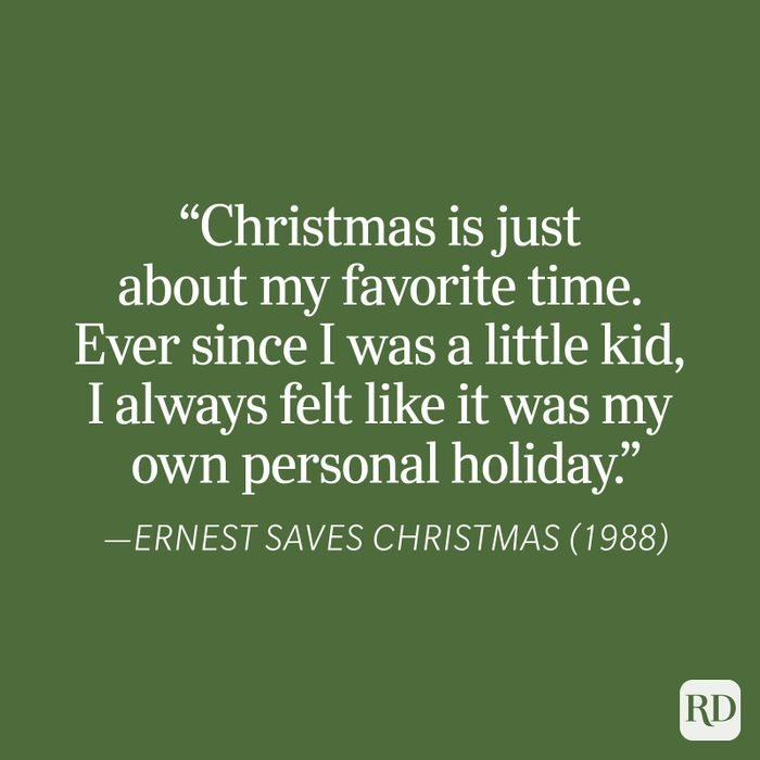 Ernest Saves Christmas Christmas Quote