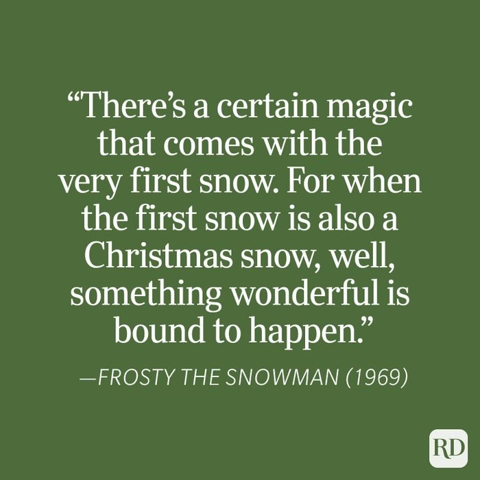 Frosty The Snowman Christmas Quote
