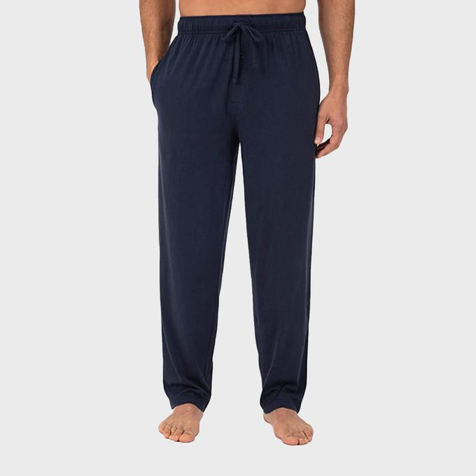 Fruit Of The Loom Men's Extended Sizes Jersey Knit Sleep Pant 2