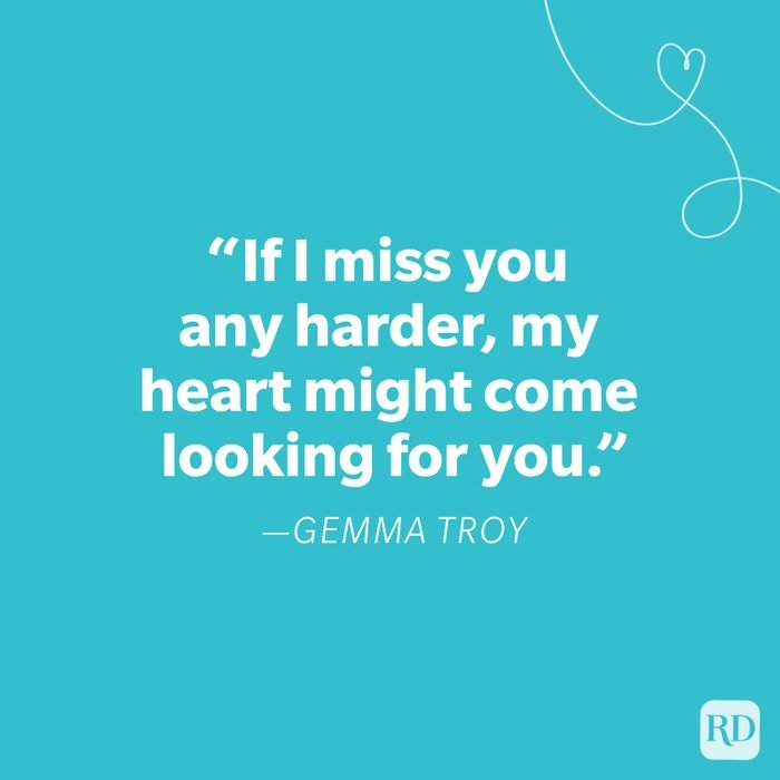 Gemma Troy Miss You Quote