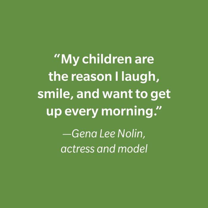Gena Lee Nolin Inspiring Kids' Quotes