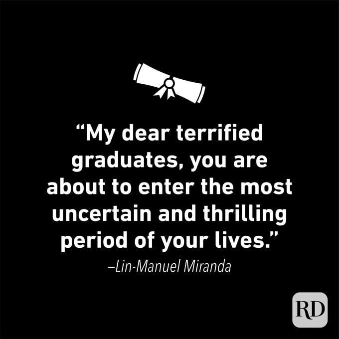 Graduation Quote by Lin-Manuel Miranda