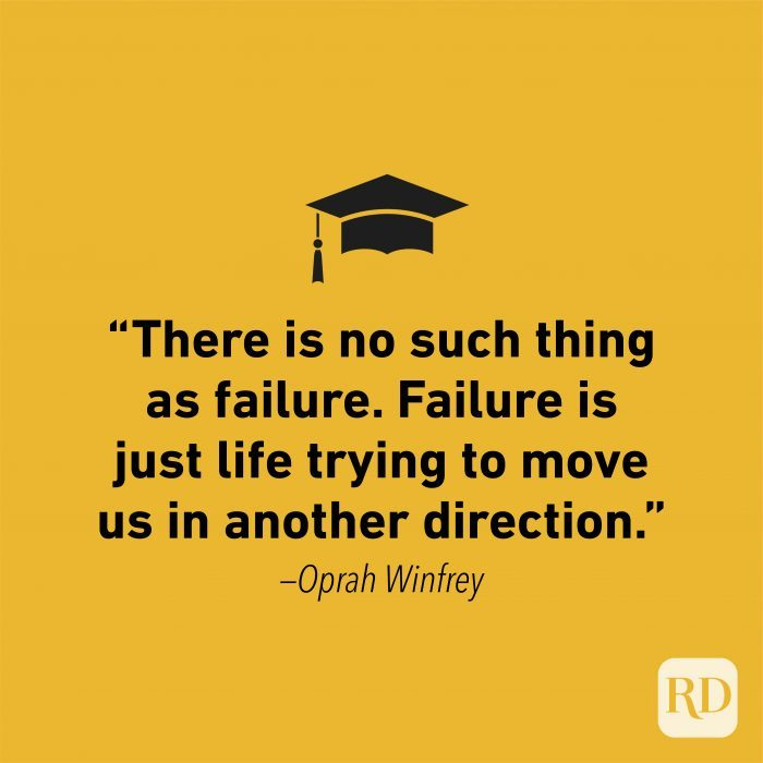 Graduation Quote by Oprah Winfrey