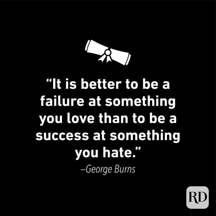 Graduation Quote by George Burns