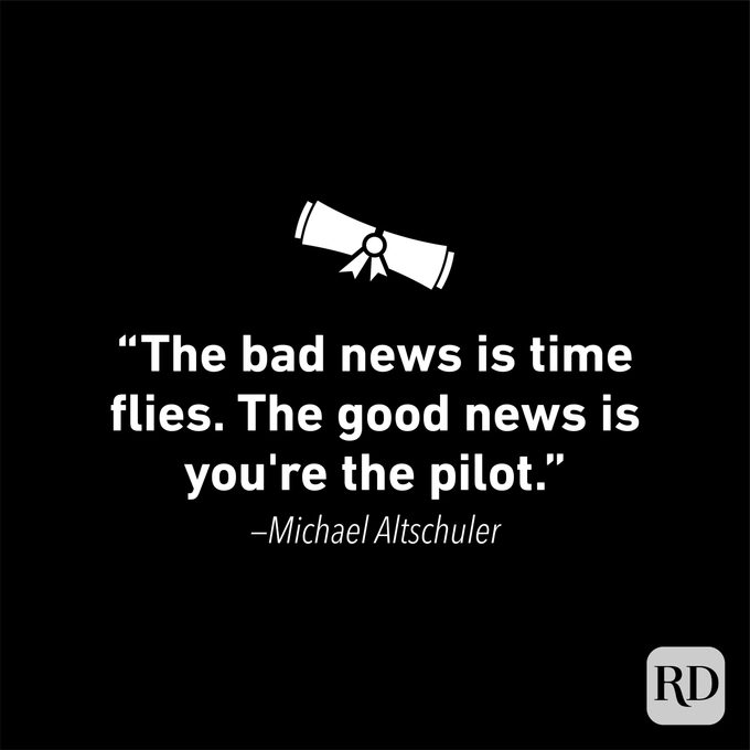 Graduation Quote by Michael Altschuler
