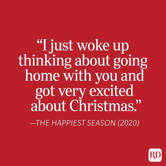 Happiest Season Christmas Quote