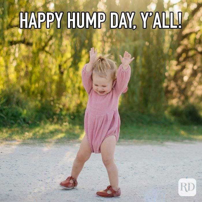 Happy Hump Day Yall meme text