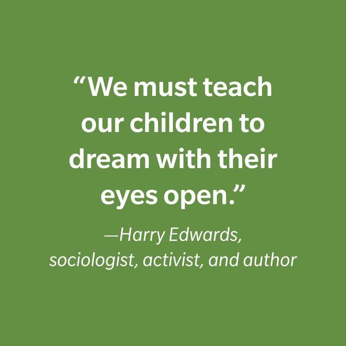 Harry Edwards Inspiring Kids' Quotes