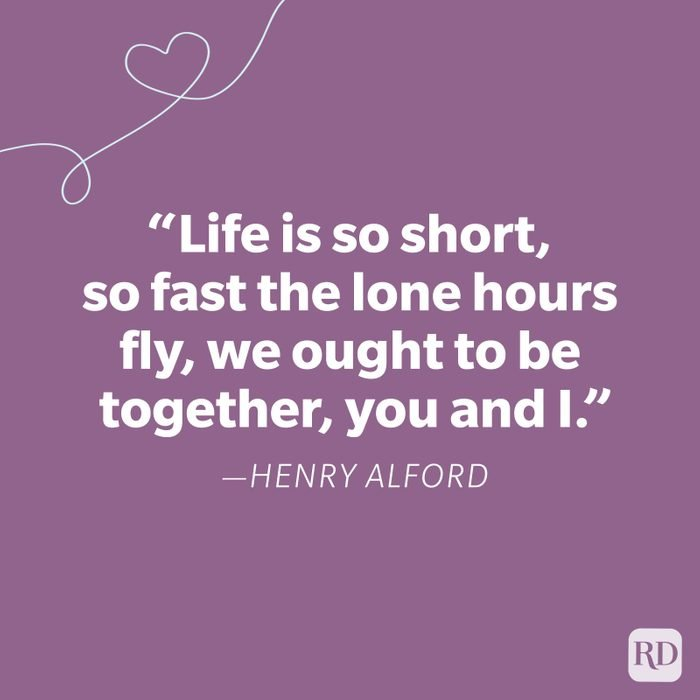 Henry Alford Miss You Quote