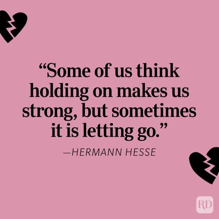Hermann Hesse Heartbreak Quote