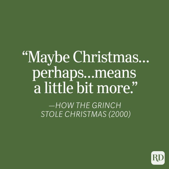 How The Grinch Stole Christmas Christmas Quote